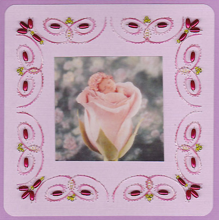 Emelie's Design Card Stitching e-Pattern - ED045e