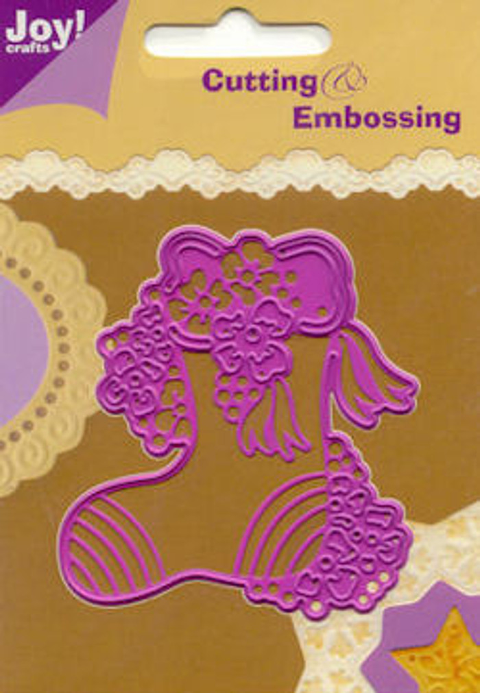 Joy! Crafts Cutting & Embossing Stencil - Christmas Stocking 46