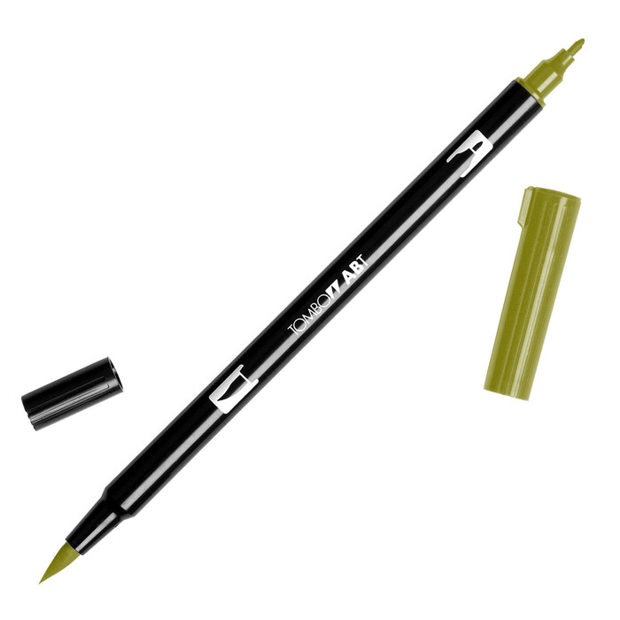Tombow Dual Brush Marker - Avocado 098