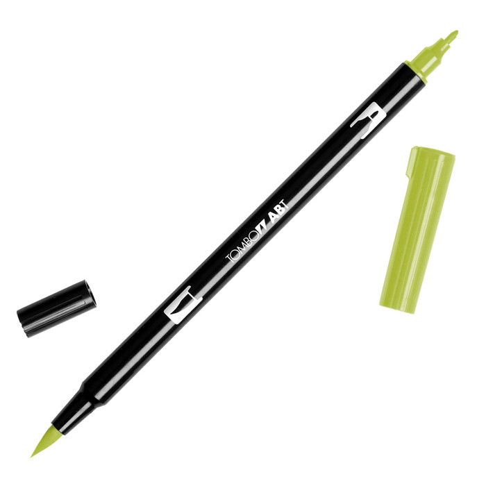 Tombow Dual Brush Marker - Light Olive 126