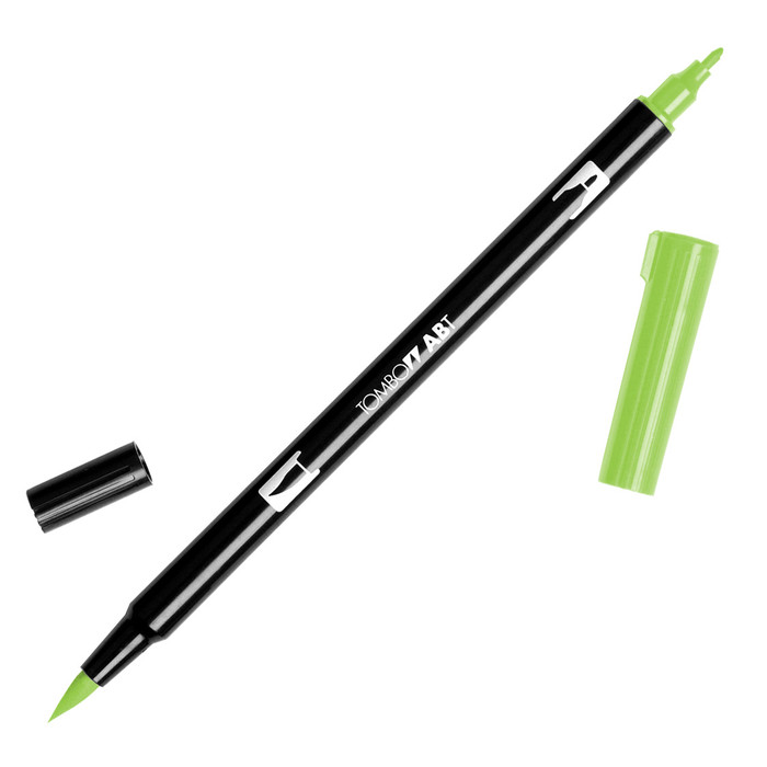 Tombow Dual Brush Marker - Willow Green 173