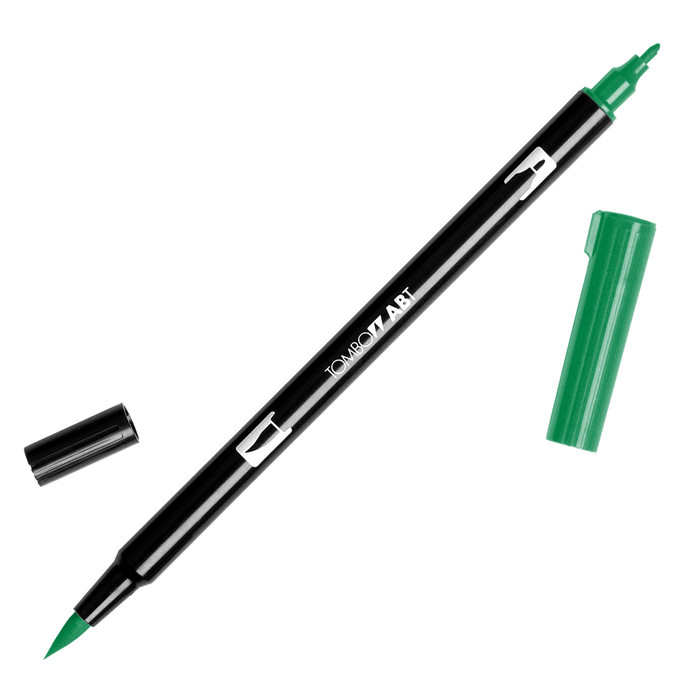 Tombow Dual Brush Marker - Sap Green 245