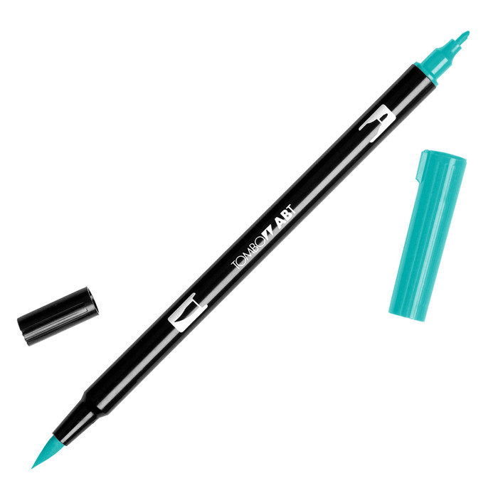 Tombow Dual Brush Marker - Sea Blue 373