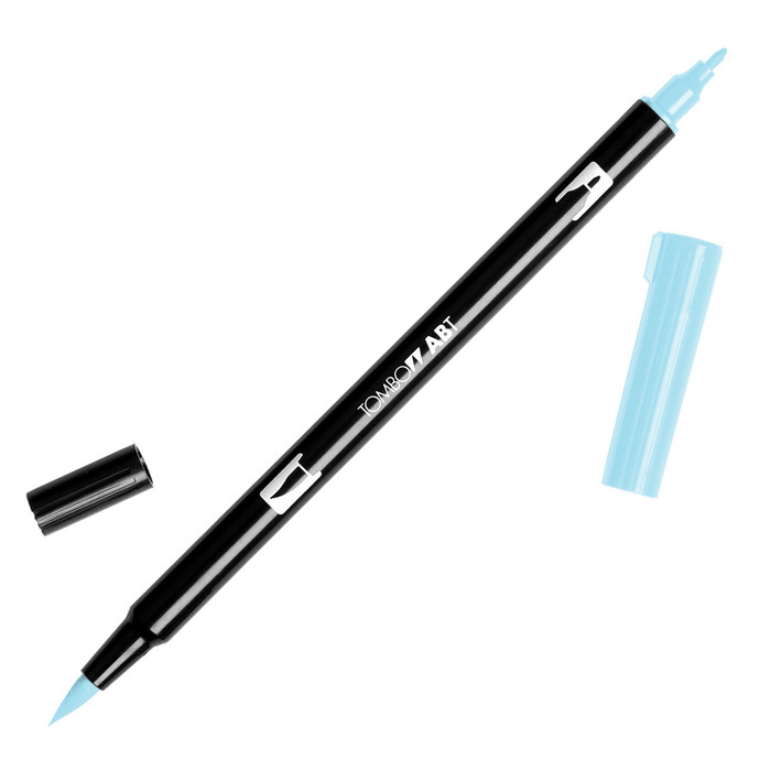 Tombow Dual Brush Marker - Sky Blue 451