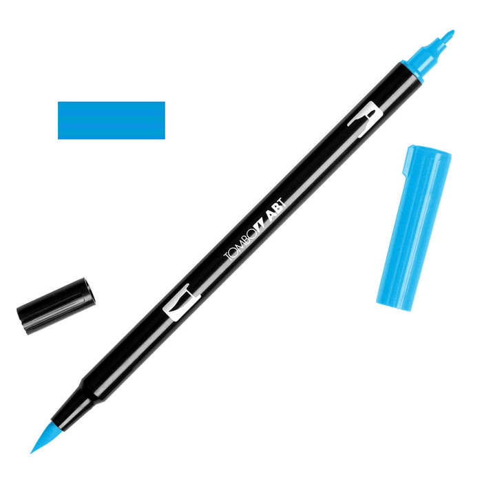 Tombow Dual Brush Marker - Light Blue 515