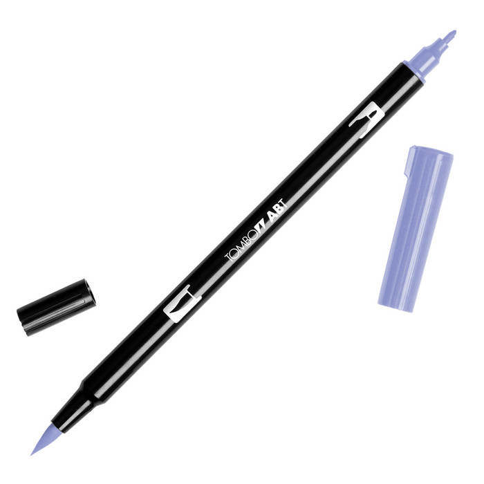 Tombow Dual Brush Marker - Purple Sage 623