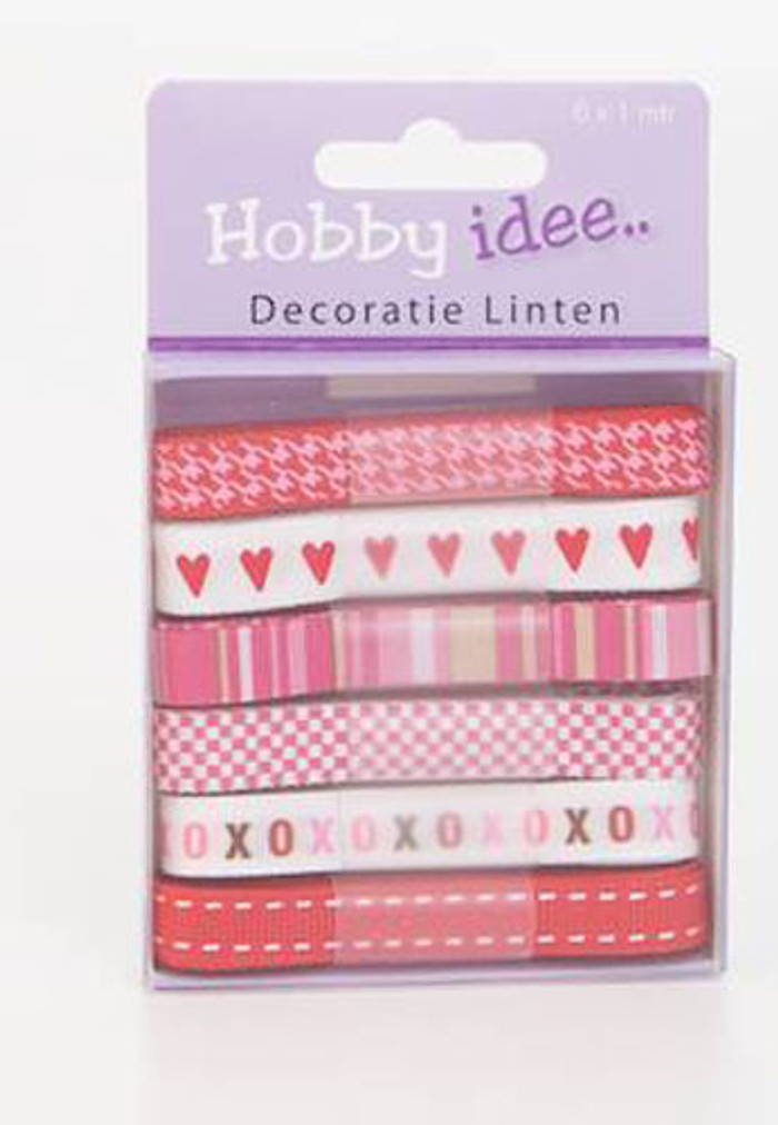 Hobby Idee Ribbon Set 6
