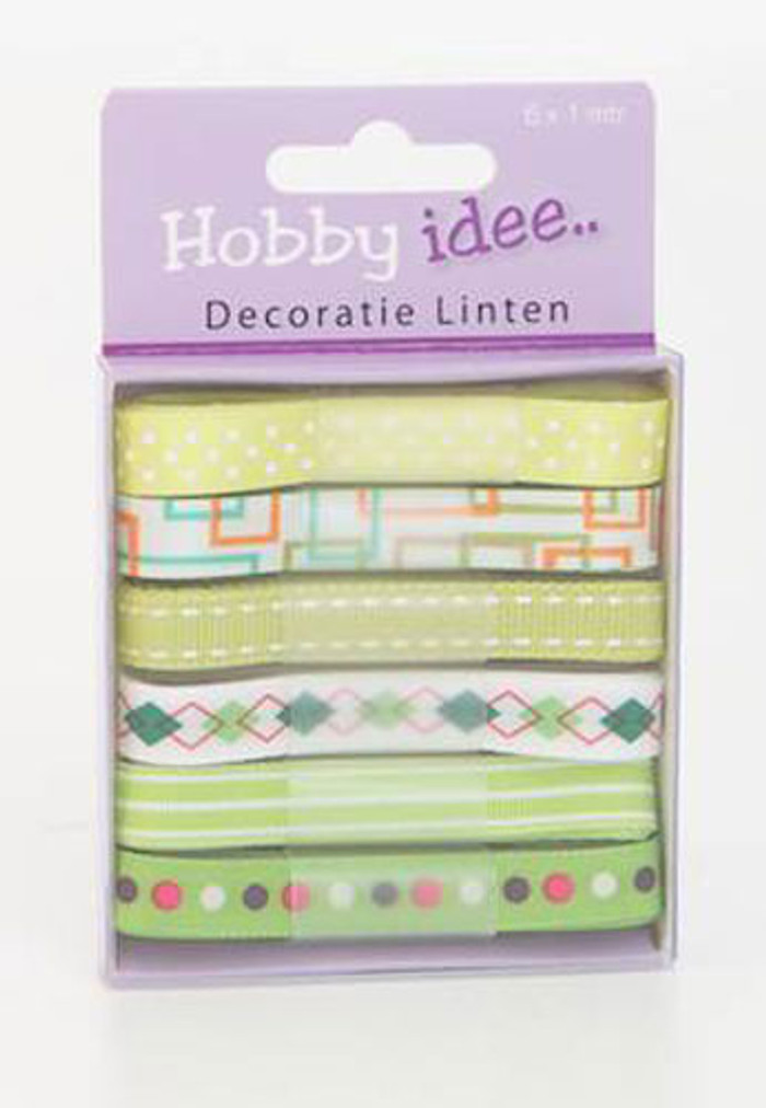 Hobby Idee Ribbon Set 7