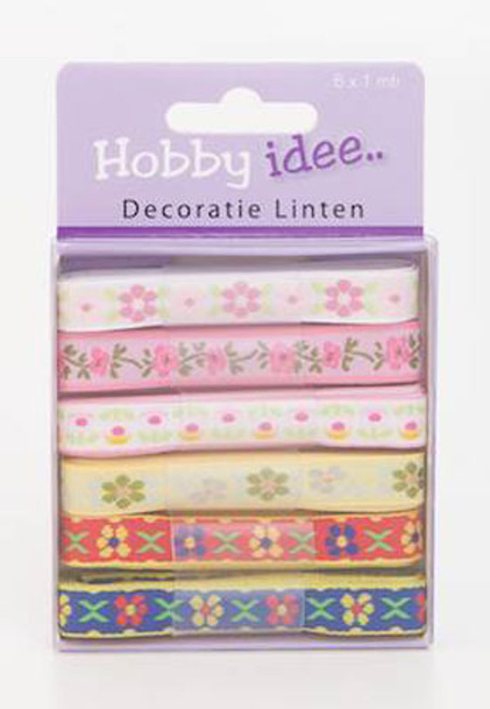 Hobby Idee Ribbon Set 12