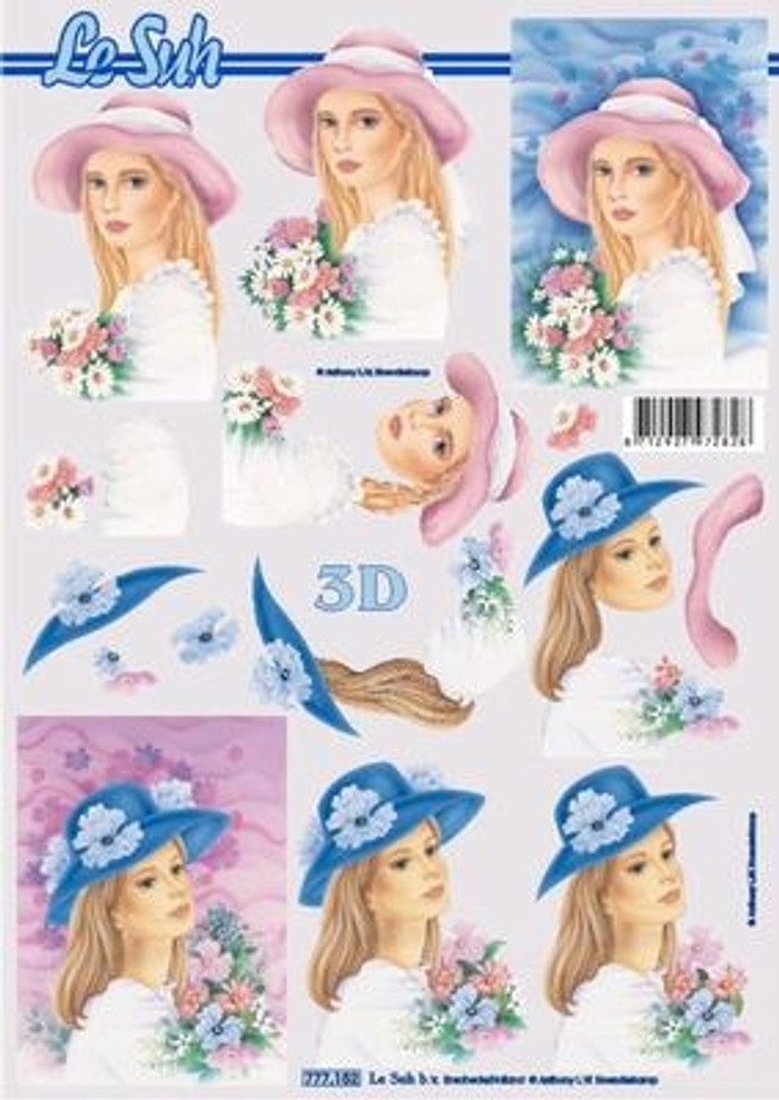 3D Sheet Le Suh - Ladies  777152
