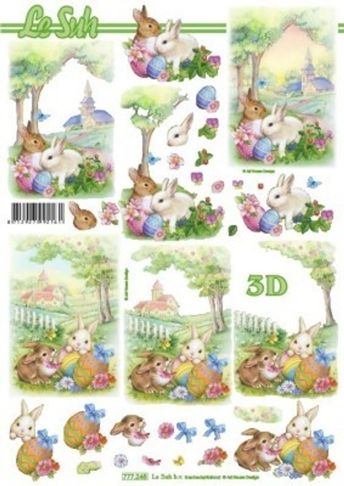 3D Sheet Le Suh - Easter 777245