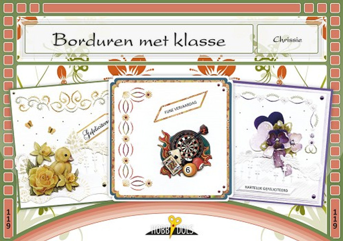 Hobbydols 119 -  Borduren met klasse (Dutch Language)