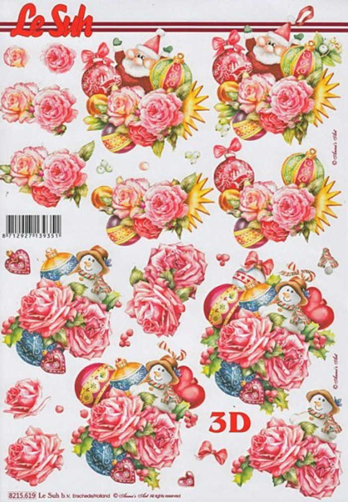 3D Sheet Le Suh - Flowers 8215619