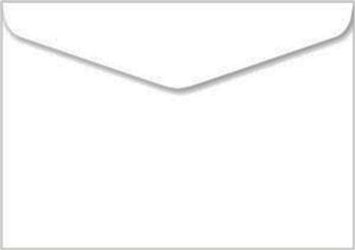 C6 Premium Envelopes 100gsm - White Pk 20