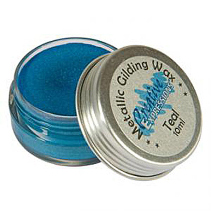 Creative Expressions Gilding Wax 10ml - TEAL