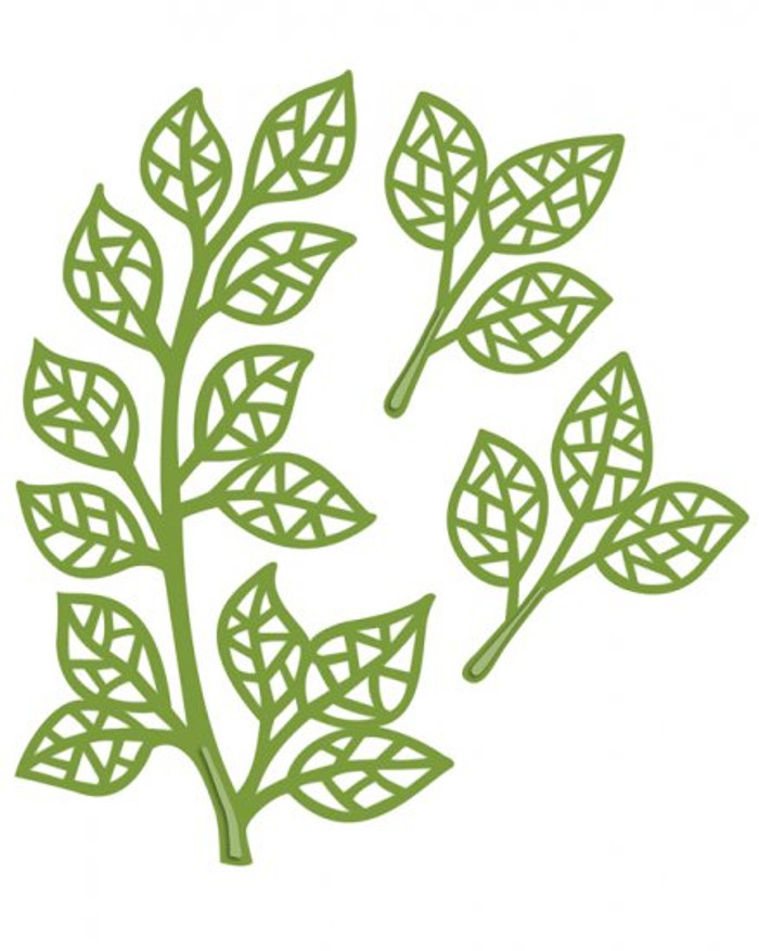 Sue Wilson - The Finishing Touches Collection - Mosaic Leaves Dies CED1420 - Pre-Order 15% Off
