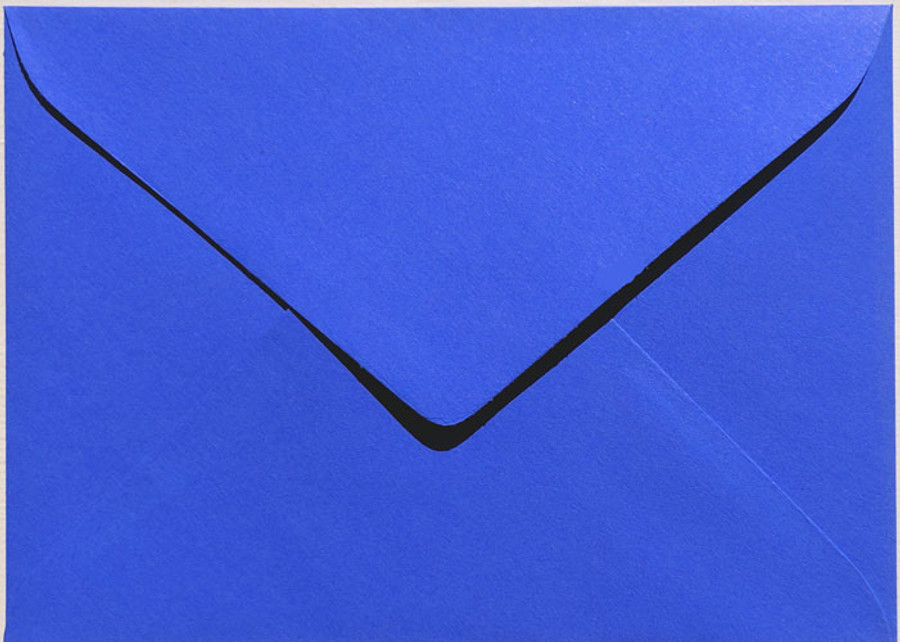 "A7 (5"" x 7"") Envelopes -  130mm x 185mm - ROYAL BLUE  20Pk 120gsm"