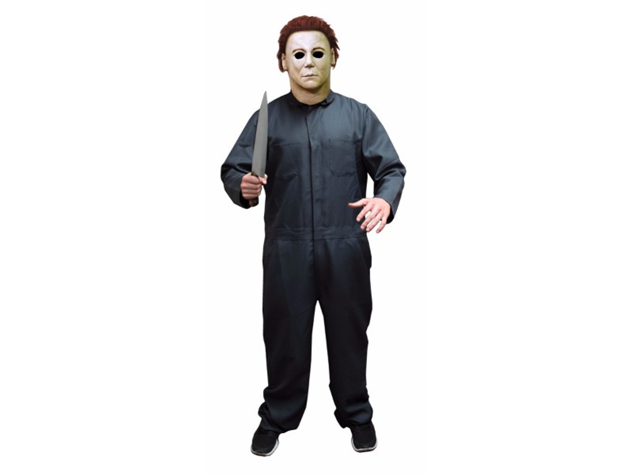 official halloween ii licensed coveralls for your halloween ii costume zip front spruce green