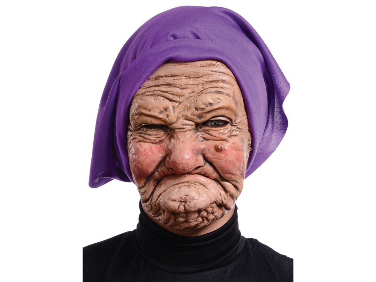 Granny Grandma Old Lady Woman Latex Mask  Houseofhauntzcom-4367