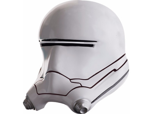 The perfect accessory for your Flametrooper costume from the new Star Wars movie. 2 piece white helmet. One size fits most Children.