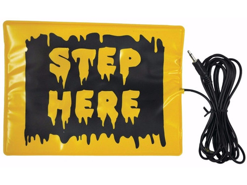 Activate your animatronics whenever you want to create a big scare when you use the universal footpad activator. Simple pressure pad you step on to activate an item. Has a mini jack connector.