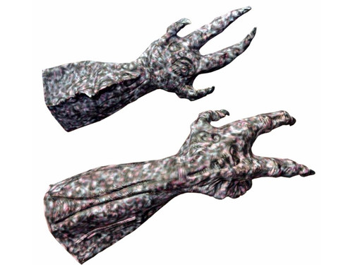 These Alien Hands are perfect and come with super details.  They are a collector's quality set of hands that will finish your Alien look. Very large and worth the price however you will need to customize to your liking.  From the movie Alien Vs Predator.