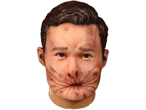 """Trick or Treat Studios and Sony Pictures Entertainment are proud to present the officially licensed Preacher - Arseface Mask. Based on the actual screen used appliances, this mask is an exact replica of Arseface. So get yourself a Preacher Arseface Mask and try not to """"go to hell!"""""""