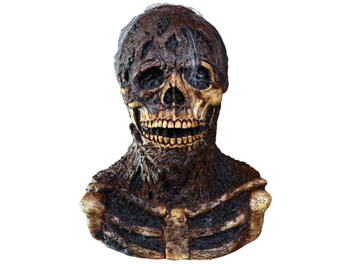 Trick or Treat Studios and Blairwood Entertainment is proud to present the Official Creepshow Nate Mask. Intensely detailed, Nate was sculpted by Trick or Treat Studios VP of Art Direction, Justin Mabry. Using numerous screen shot from Creepshow, every detail of Nate is here including the use of Rice Krispies to make the maggots, a technique use by Tom Savini, the actual Makeup Artist of Nate. So be sure to order Nate today so that you can have your cake....and eat it too.....  ©2017 Blairwood Entertainment.