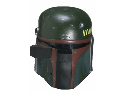 Get your favorite characters mask Boba Fett! The classic helmet known to all. Movable helmet sight with smoked lens. Plastic.