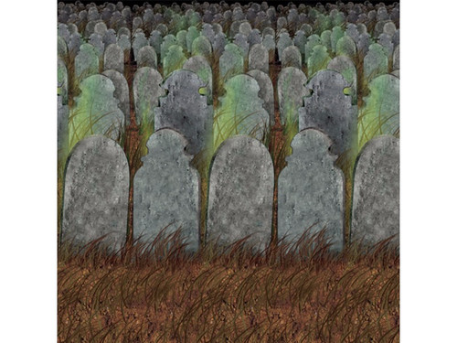 halloween this graveyard backdrop is great for photo ops decoration or even as a backdrop