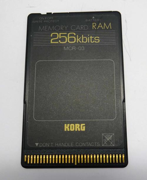 Korg MCR-03 Memory Card