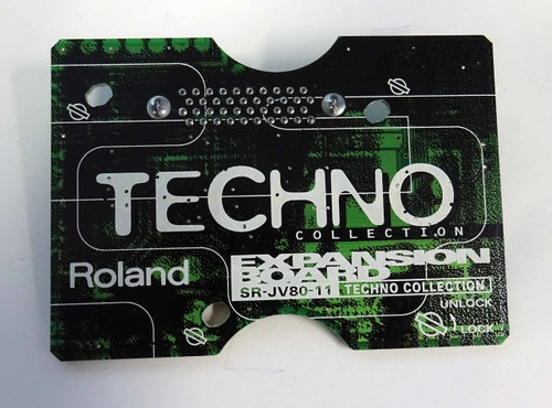 Roland SR-JV80-11 Techno Collection Expansion Card