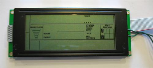Roland EM-15/25 Display Screen