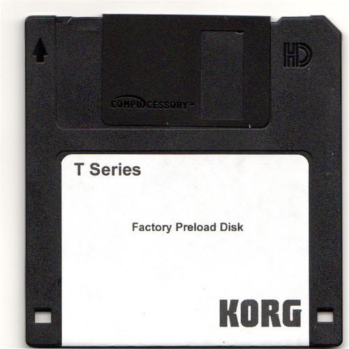 Korg T-Series Factory Preload Disk