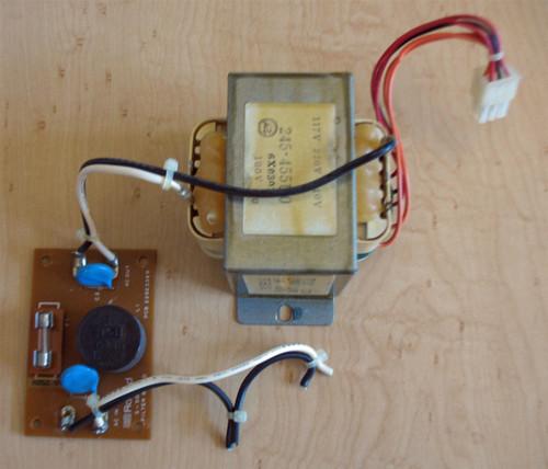 Roland S-50 Transformer/Fliter Board