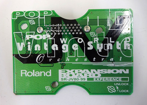 Roland SR-JV80-99 Experience Synth Expansion Card