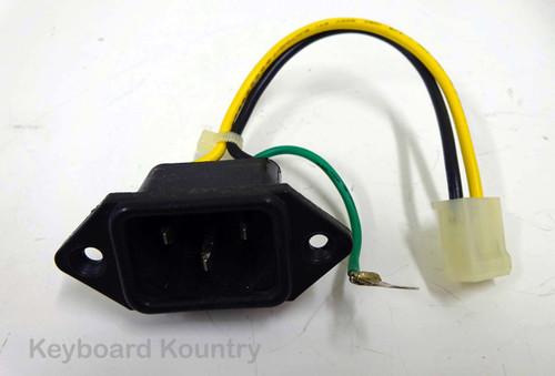 Korg T1 AC Socket Assembly