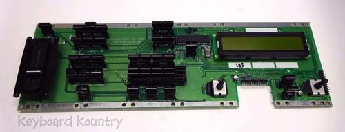 Ensoniq MR-61 Left Panel/Display Board with Button Caps
