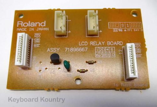 Roland Fantom FA-76 LCD Relay Board