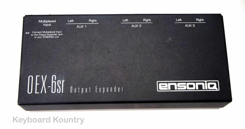 Ensoniq OEX-6sr Output Expander for Ensoniq keyboards