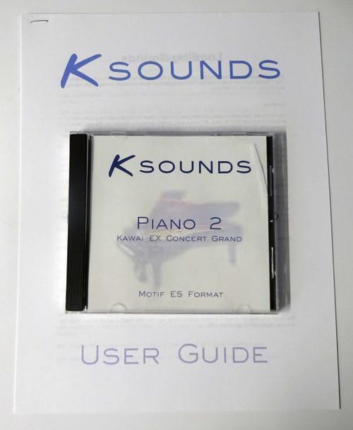Ksounds Piano 2 Kawai EX Concert Grand for Motif ES