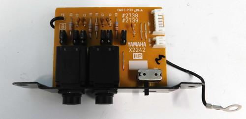 Yamaha Clavinova CLP-130 HP Headphone Jack Board