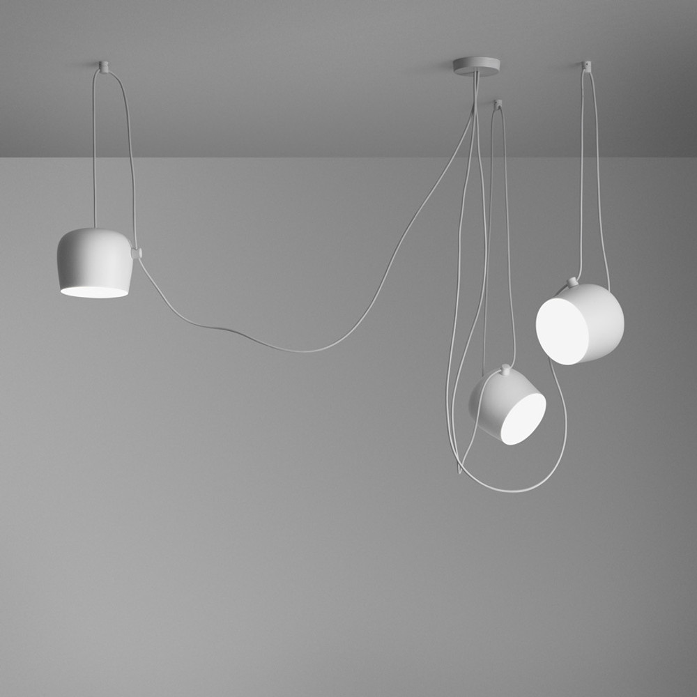 Aim Small Modern Pendant Light - Bouroullec Brothers | FLOS USA