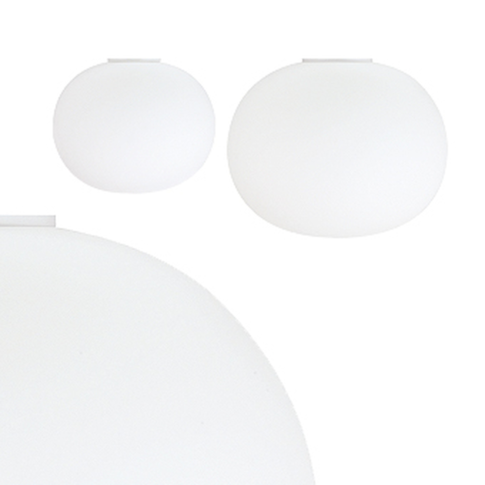 Glo Ball C - Glass ball ceiling light