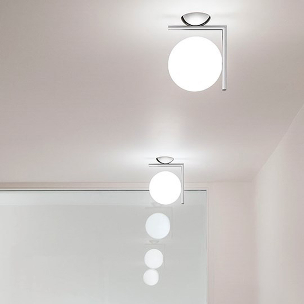 Ic lights cw wall ceiling lamp by michael anastassiades flos usa ceiling lamps ic light cw aloadofball Gallery