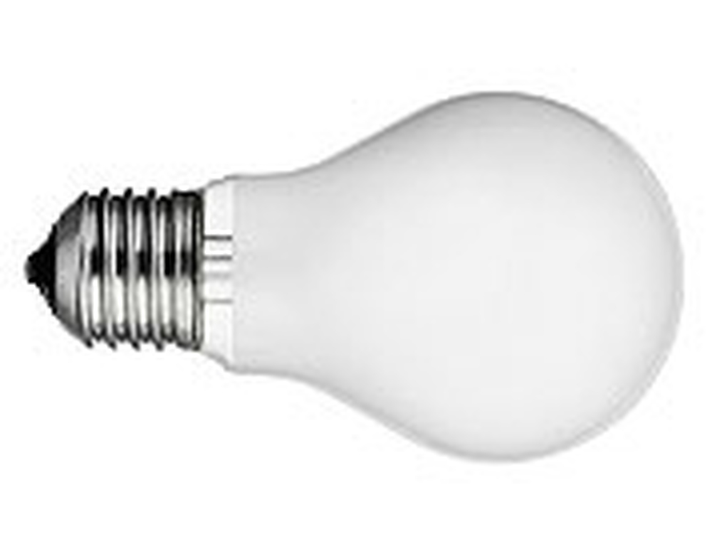 40W A-19 Medium Frosted Incandescent