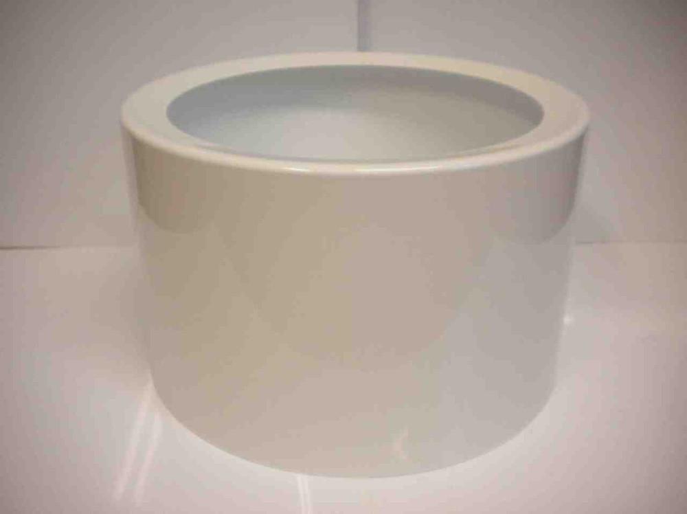 Ray S/F2 diffuser (polished white aluminium)