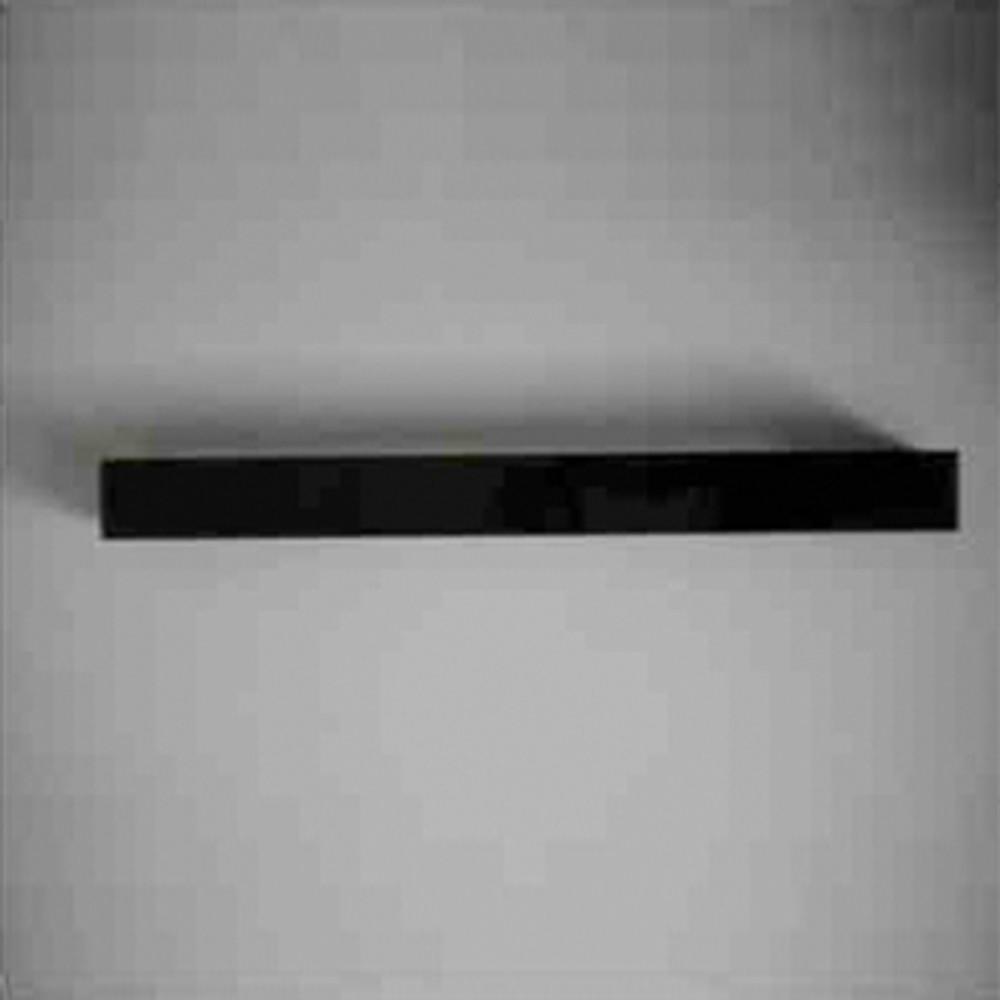 Closed Decorative Cover in Black