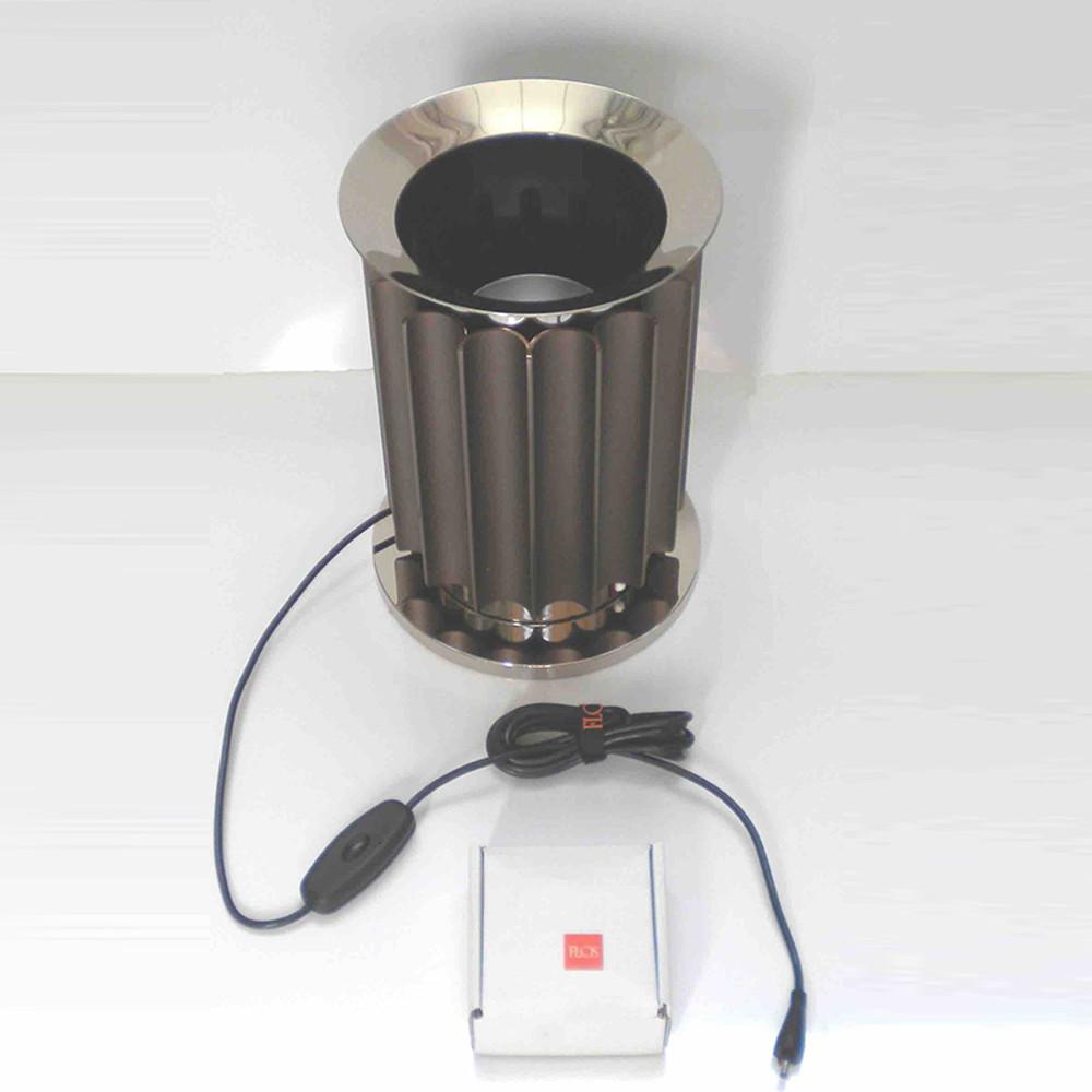 LED Base, Anodized Bronze