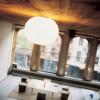 Glo ball ceiling light by Jasper Morrison